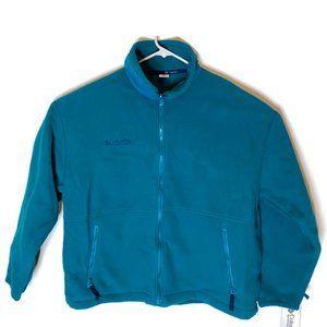 NWT Vintage Columbia Zipper Jacket Men Sz XL